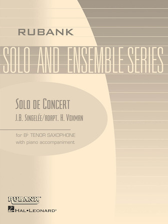 Product Cover for Solo de Concert, Op. 83