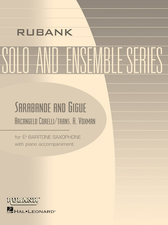 Product Cover for Sarabande and Gigue