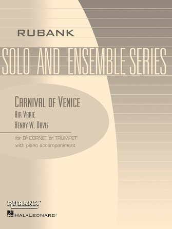Product Cover for Carnival of Venice (Air Varie)