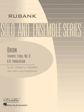 Product Cover for Orion (Trumpet Stars No. 8)