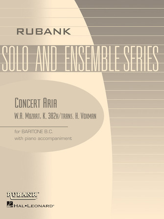 Product Cover for Concert Aria, K. 382h