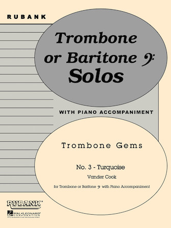 Product Cover for Turquoise (Trombone Gems No. 3)