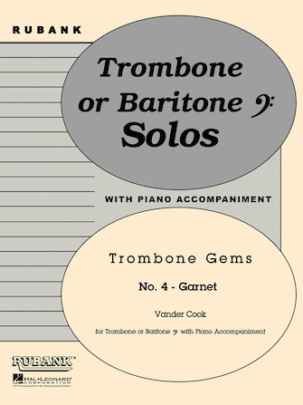Product Cover for Garnet (Trombone Gems No. 4)