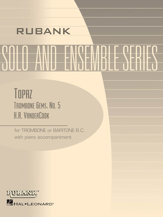 Product Cover for Topaz (Trombone Gems No. 5)