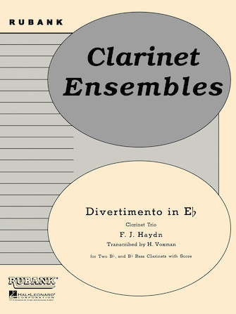 Product Cover for Divertimento in Eb