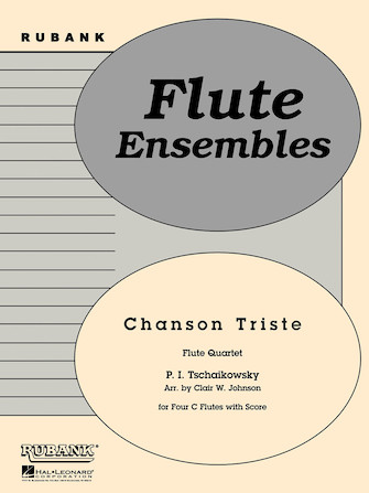 Product Cover for Chanson Triste