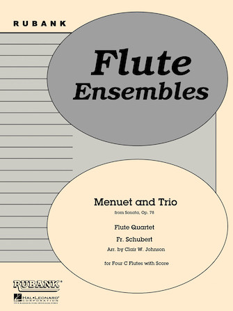 Product Cover for Menuet and Trio (from Sonata, Op. 78)