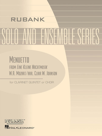 Product Cover for Menuetto from Eine Kleine Nachtmusik