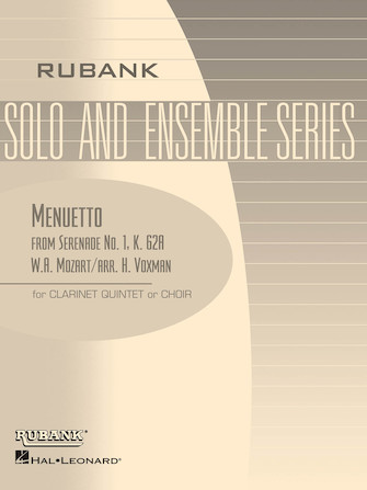 Product Cover for Menuetto from Serenade No. 1 (K. 62a)
