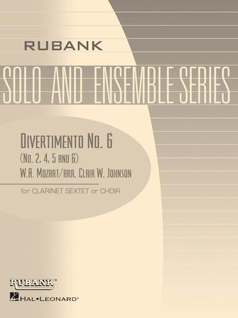 Product Cover for Divertimento No. 6 (Nos. 2, 4, 5, 6)