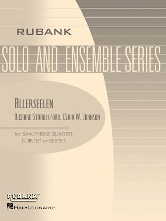 Product Cover for Allerseelen (Op. 10, No. 8)