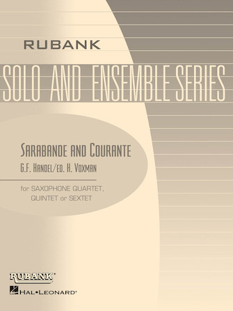 Product Cover for Sarabande and Courante