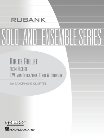 Product Cover for Air de Ballet (from Alceste)