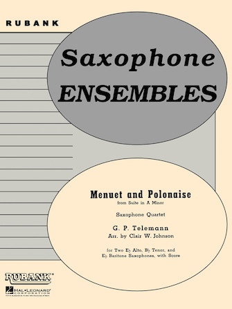 Product Cover for Menuet and Polonaise (from Suite in A Minor)