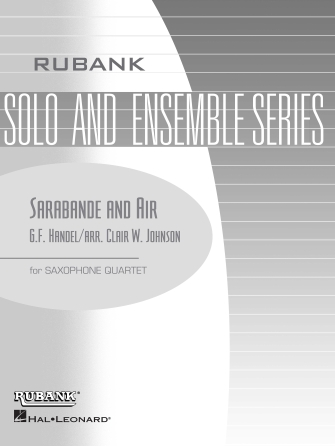 Product Cover for Sarabande and Air