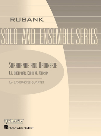 Product Cover for Sarabande and Badinerie