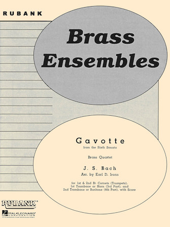 Product Cover for Gavotte from the Sixth Sonata
