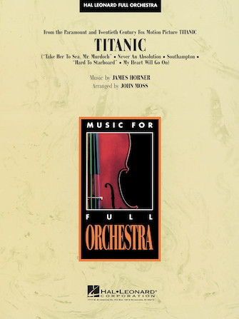 Product Cover for Titanic Full Score