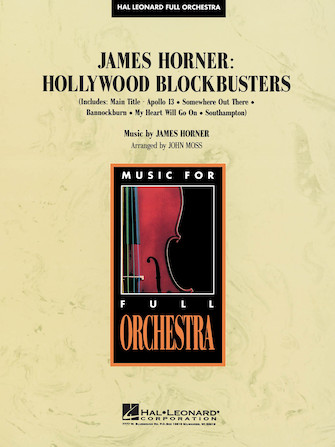 Product Cover for James Horner – Hollywood Blockbusters
