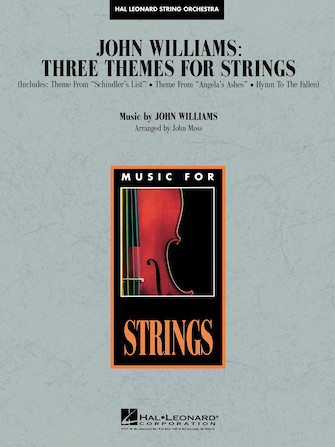 Product Cover for John Williams – Three Themes for Strings