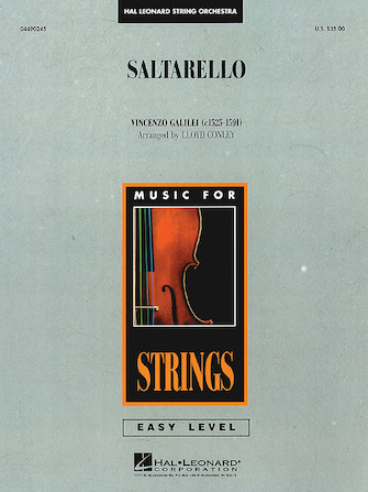 Product Cover for Saltarello