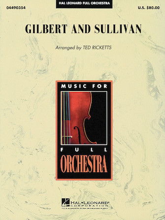 Product Cover for Gilbert and Sullivan