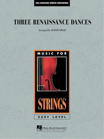 Product Cover for Three Renaissance Dances