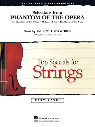 Product Cover for Selections from The Phantom of the Opera