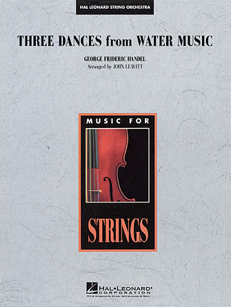 Product Cover for Three Dances from Water Music