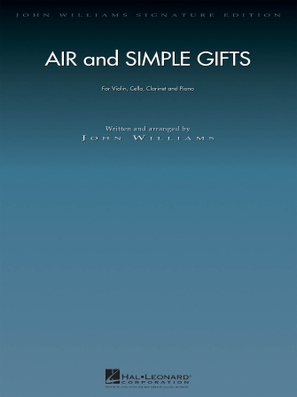 Product Cover for Air and Simple Gifts