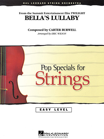 Product Cover for Bella's Lullaby (from Twilight)