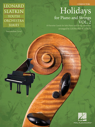 Product Cover for Holidays for Piano and Strings