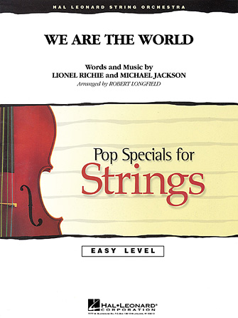 Product Cover for We Are the World
