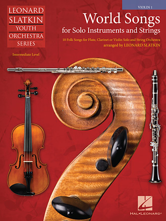Product Cover for World Songs for Solo Instruments and Strings