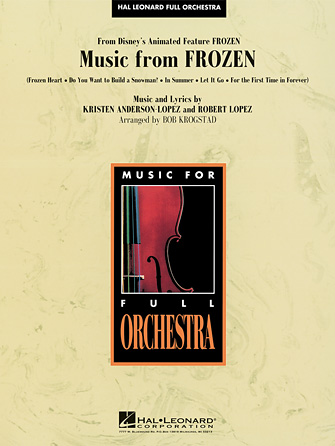 Product Cover for Music from Frozen