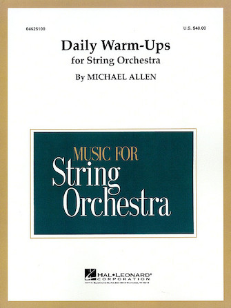 Product Cover for Daily Warm-Ups for String Orchestra