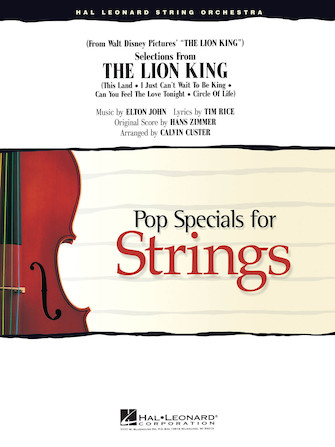 Product Cover for Selections from The Lion King