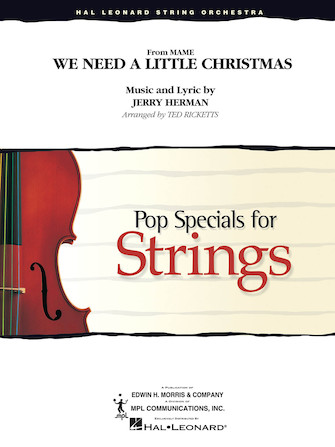 Product Cover for We Need a Little Christmas