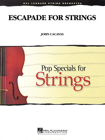 Product Cover for Escapade for Strings