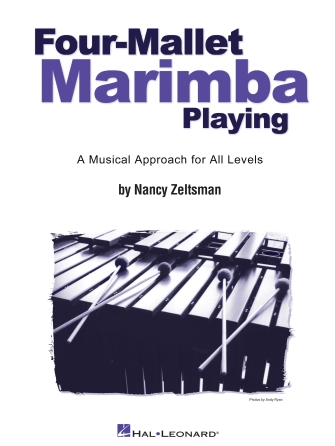 Product Cover for Four-Mallet Marimba Playing