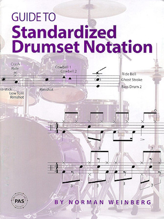 Product Cover for Guide to Standardized Drumset Notation