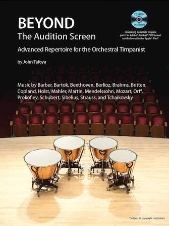 Product Cover for Beyond the Audition Screen