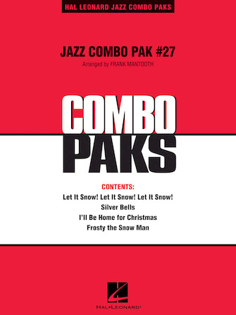 Product Cover for Jazz Combo Pak #27 (Christmas)