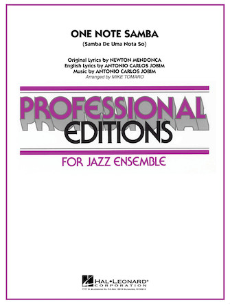 Product Cover for One Note Samba