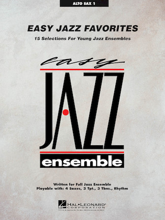 Product Cover for Easy Jazz Favorites – Alto Sax 1