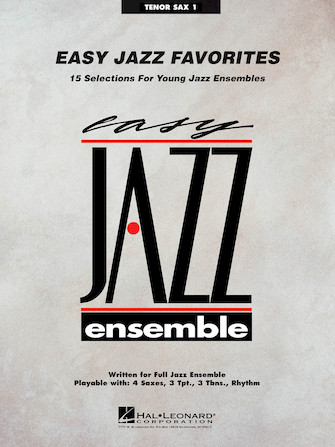 Product Cover for Easy Jazz Favorites – Tenor Sax 1