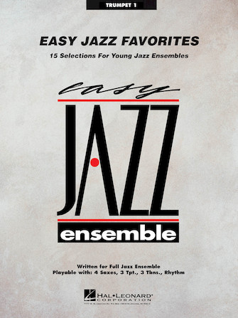 Product Cover for Easy Jazz Favorites – Trumpet 1