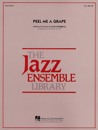 Product Cover for Peel Me a Grape