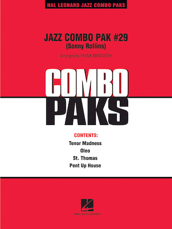 Product Cover for Jazz Combo Pak #29 (Sonny Rollins)