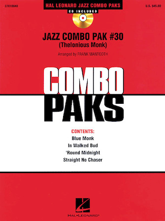 Product Cover for Jazz Combo Pak #30 (Thelonious Monk)